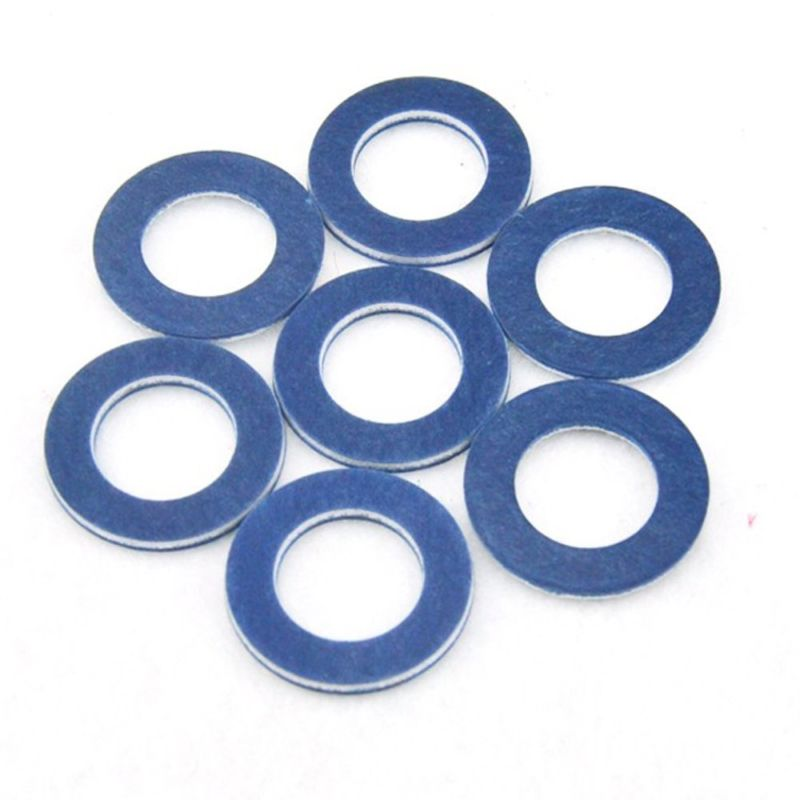 10pcs Engine Oil Drain Plug Seal Washer Gasket Rings 90430-12031 For TOYOTA10pcs Engine Oil Drain Plug Seal Washer Gasket Rings 90430-12031 For TOYOTA