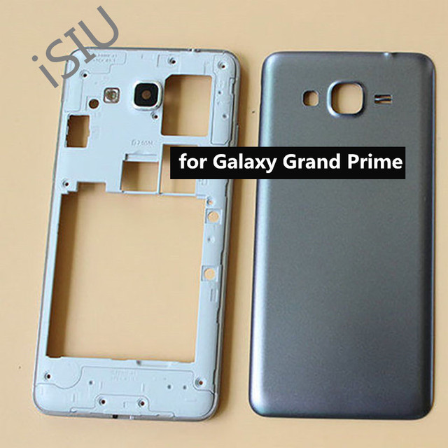 the latest f3051 92044 Middle Frame Bezel + Cover Case For Samsung Galaxy Grand Prime G530 G530H  Mobile Phone Replacement Housing with Side Button New-in Mobile Phone ...