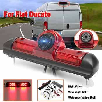 HD CCD Car Rear View Camera Reversing Backup Parking Brake Light Night Vision for Fiat Ducato late Peugeot Boxer Citroen Jumper - DISCOUNT ITEM  8% OFF All Category