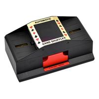 Automatic Poker Card Shuffler Playing Shuffling Machine Funny Family Game Club Accessory Two Deck For All Standard Size Cards