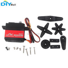JX PDI-6221MG 20KG Large Torque Digital Servo for Smart Car Crawler Boat Helicopter 4.8-6V