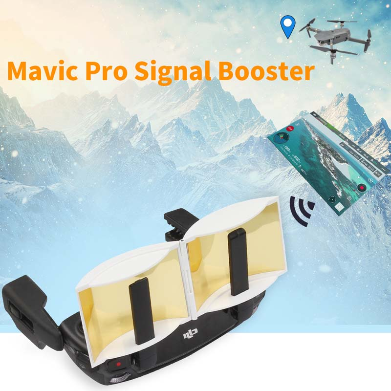 Antenna Amplifier Range Extender Enhancer Remote Controller Signal Booster For DJI MAVIC 2 PRO AIR Drone Spark Accessories in Drone Accessories Kits from Consumer Electronics