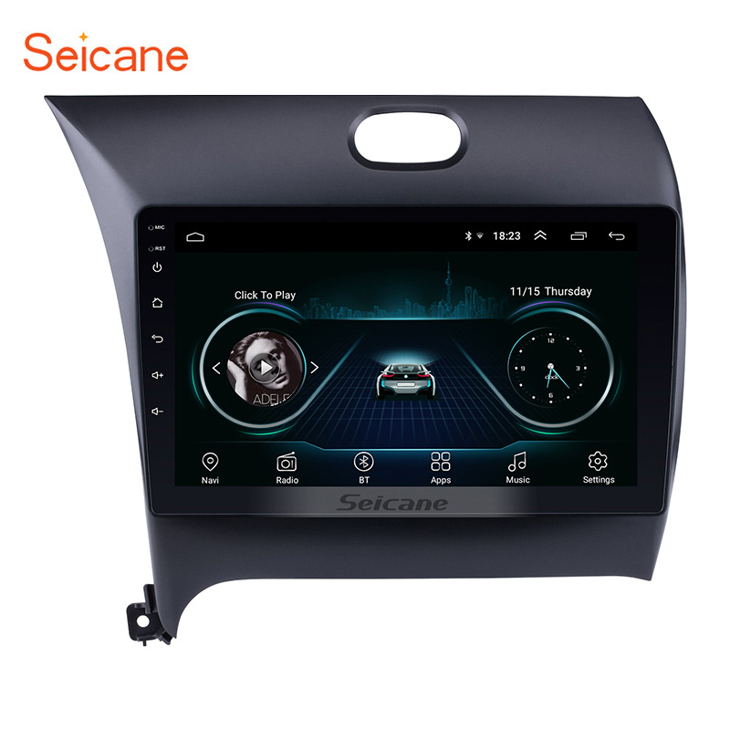 Seicane 2Din Android 8.1 Car GPS Multimedia Player For KIA K3 CERATO FORTE 2013 2014 2015 2016 support Mirror Link WIFI DVR image