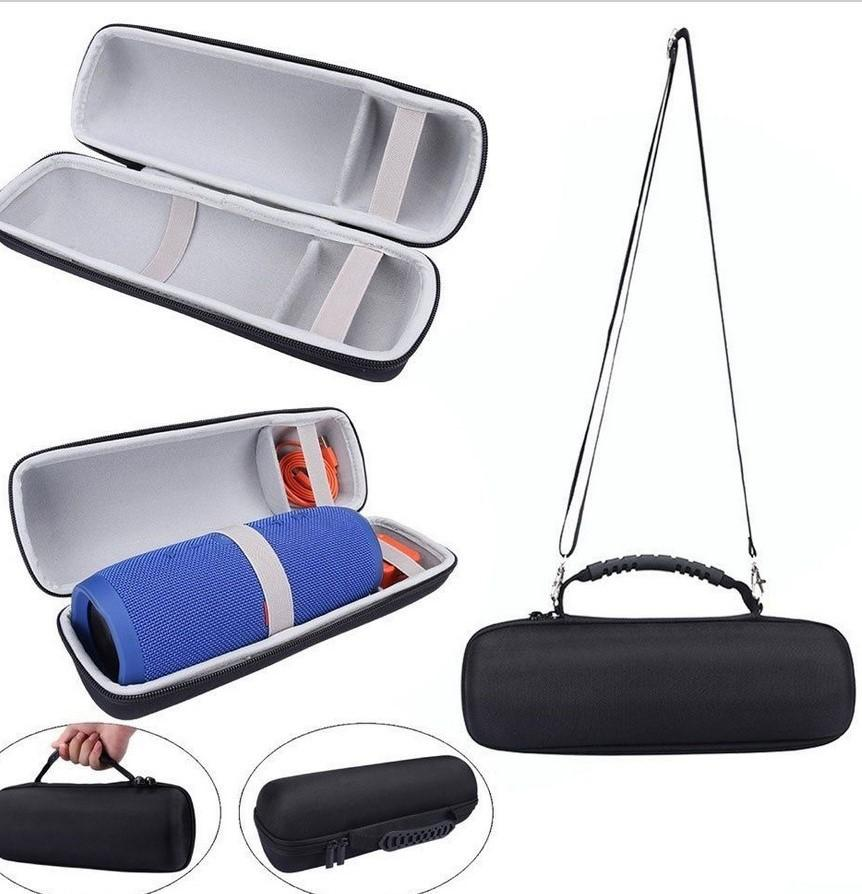 BEESCLOVER Portable Speaker Storage Bag Hard Carry Box Protective Cover Case For JBL Charge 3 Bluetooth Speaker Pouch Case D20