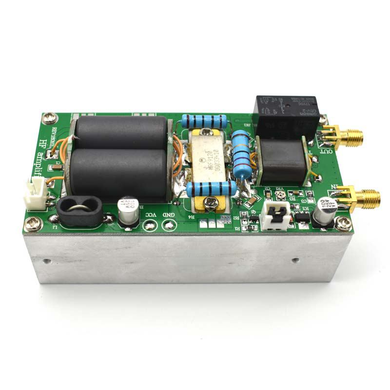 100W Ssb Linear Hf Power Amplifier With Heatsink For Yaesu Ft-817 Kx3 Cw Am Fm C5-001100W Ssb Linear Hf Power Amplifier With Heatsink For Yaesu Ft-817 Kx3 Cw Am Fm C5-001