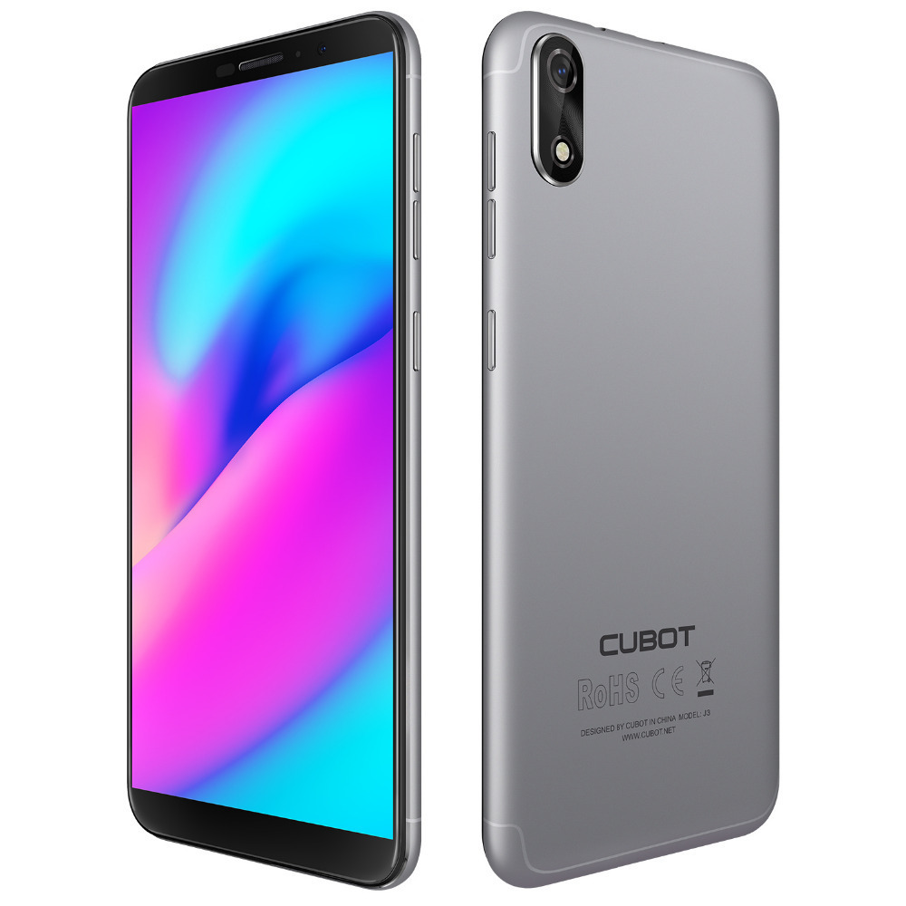 Cubot J3 Android GAAN Smartphones MT6580 Quad Core 5.0 Inch Mobiele Telefoon 1G RAM 16G ROM Dual Back camera 2000mAh 3G Mobiele Telefoons - 4