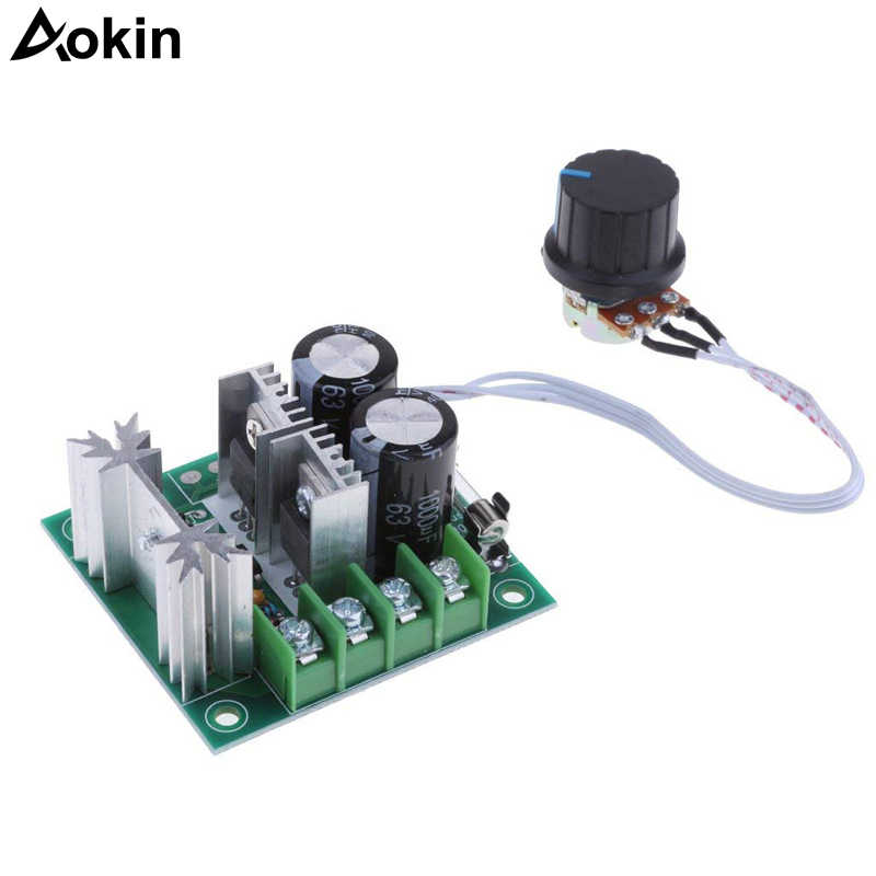 Upgrade 12-40 V 10A DC Pompa Motor Speed Controller