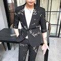 2019 männer Anzug Koreanische Slim Fit Hochzeit Anzüge Für Bräutigam Sommer 2 stücke Set Business Formale Tragen Smoking Ternos Masculino kostüm Homme