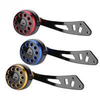 Carretel de pesca lidar com botão com encaixes isca fundição carretel lidar com roda de pesca alça diy peça de substituição para a/d/s carretel