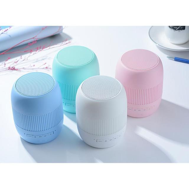 New AI Smart Wireless Bluetooth Speaker Mini Fashion Portable Stereo Sound Effect Multifunctional Loudspeaker Fast Shipping