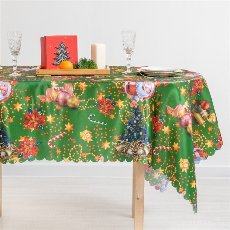 Tablecloth Collorista Christmas mood полотенце collorista фламинго 60x146cm 2588690