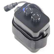 6 section 18650 battery box 18650 battery pack 5VUSB/8.4VDC dual interface 18650 waterproof battery box