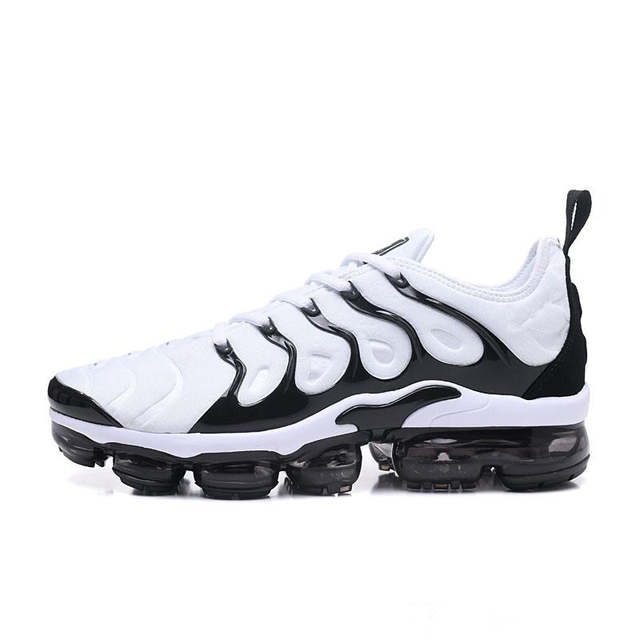 the latest 2ddc7 79dd2 US $40.18 |Vapormax Plus TN VM Triple Black Run In Metallic Mens Designer  Shoes Men Running Trainers Women Luxury Brand Sneakers-in Running Shoes  from ...