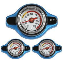Автомобильный термостатический манометр крышка радиатора крышка бака датчик температуры воды Полезная безопасность 0.9bar/1.1bar/1.3bar термометр радиатор
