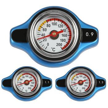 Автомобильный термостатический датчик крышка радиатора Крышка Резервуара датчик температуры воды утилитарный безопасный 0.9 бар/1.1 бар/1.3 б...