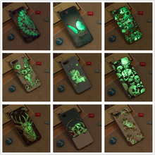 CASEWIN Luminous phone cases For Huawei Honor 10 Case Silicone Ultra Slim Soft TPU Fluorescence Cover