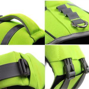 Image 4 - Petacc Reflective Adjustable Dog Harness Swim Swimming Vest Swimsuit Dog Life Vest Summer Clothes for Dogs