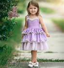 Girls Summer Princess Dress Baby girl Party Wedding Lace Tulle Dresses baby girl
