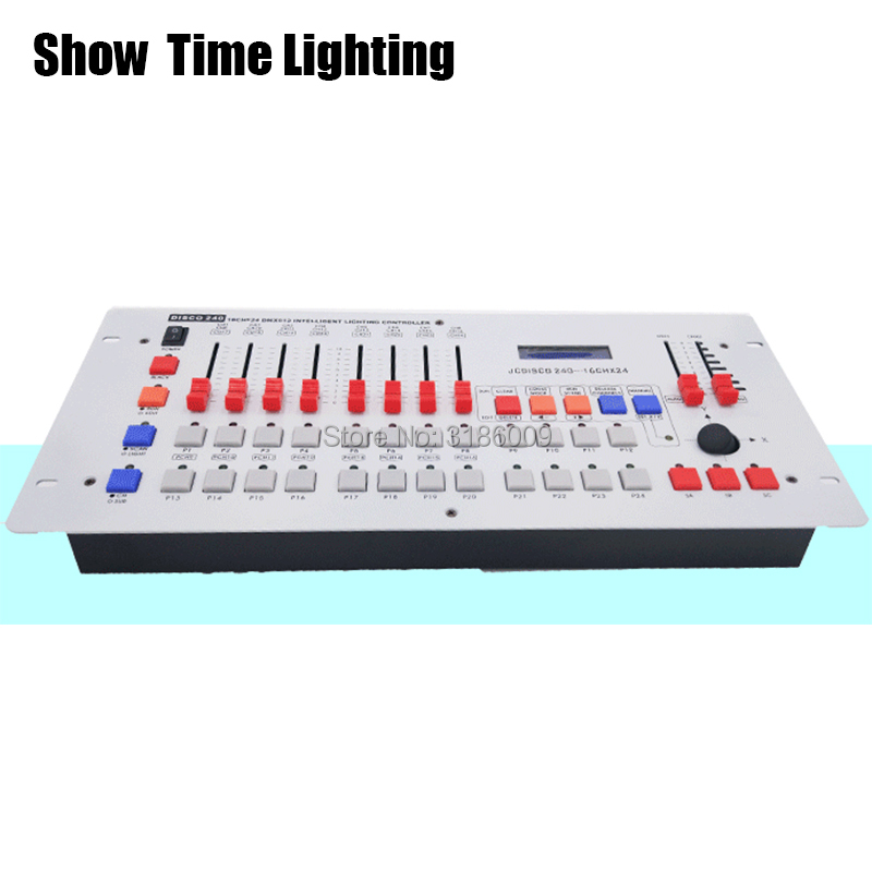 hot sale Disco 240 DMX Controller Stage light DMX512 signal console for XLR 3 led par moving head DJ light stage effect light