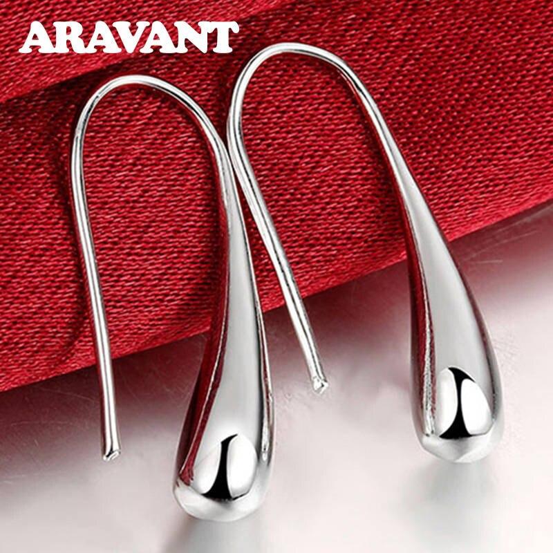 925-Silver Earring Fashion Jewelry Hot-Sale Valentine Teardrop/Water-drop/raindrop Women