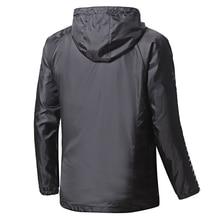 New Women/Men Running Sports Jacket Autumn/Winter Windbreaker Windproof Striped Hoodie