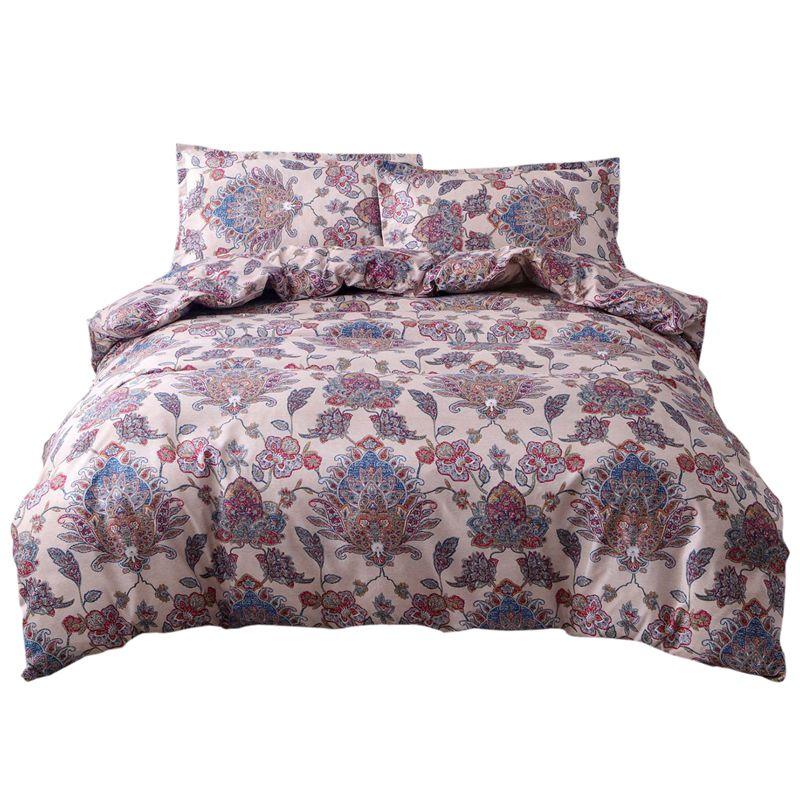 Bohemian Oriental Mandala Bedding Quilt Duvet Cover Set 3Pcs Bedding SetBohemian Oriental Mandala Bedding Quilt Duvet Cover Set 3Pcs Bedding Set