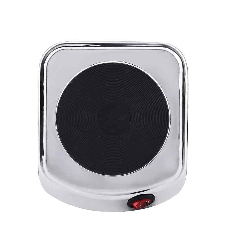 220V 500W Mini estufa eléctrica multifunción plancha caliente para cocinar calentador de café calentador de té de café aparato doméstico cafetera