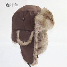 Mens Women Unisex Warm Trapper Aviator Trooper Earflap Winte