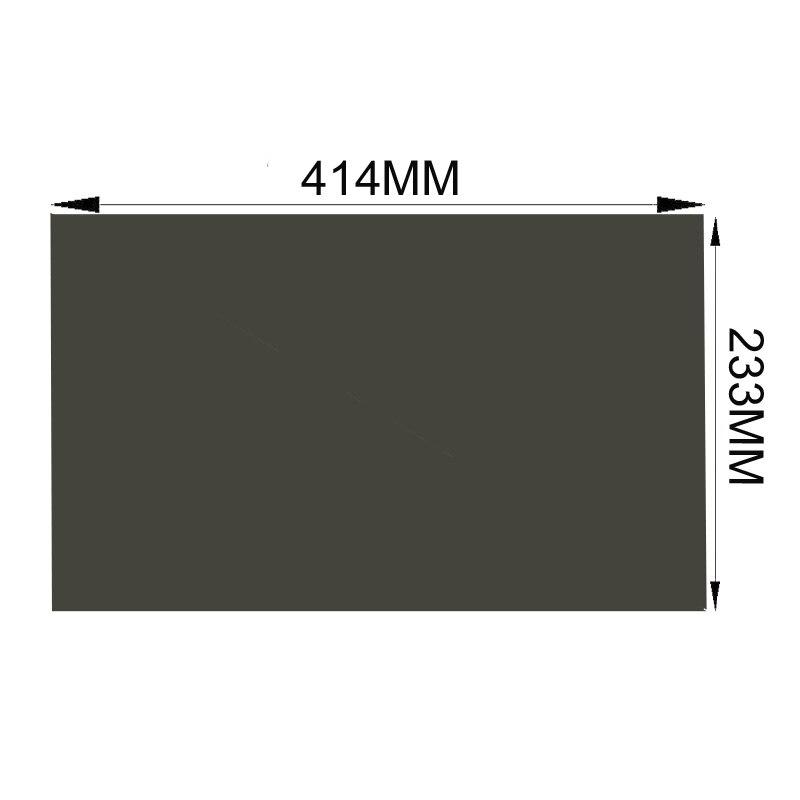 """Livraison gratuite!!! 10 PCS/Lot en gros nouveau 18.5 """"45 degrés mat/brillant 414 MM * 233 MM LCD Film polariseur pour tft LCD écran LED-in Filtres et protections d'écran from Ordinateur et bureautique on AliExpress - 11.11_Double 11_Singles' Day 1"""