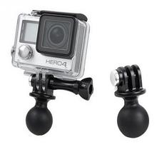 Ball Head Base Extension For RAM Mount Tripod Adapter For GoPro Hero 3/3+/4  #2615