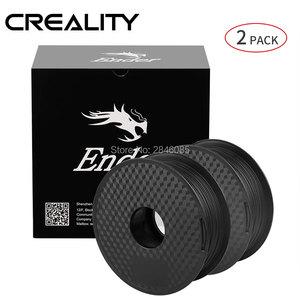 Image 3 - CREALITY 3D Принтер Нити Ender бренд белый/черный цвет нити 2 кг/лот высокое качество PLA 1,75 мм для 3D принтера печати