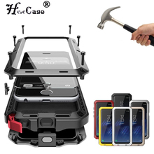 Heavy Duty Protection armor Metal Aluminum phone Case For