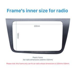 Image 4 - Seicane 2 din カーラジオ筋膜ダッシュトリムキット 2004 + シートアルテアトレド lhd 220*130 ミリメートルステレオ dvd プレーヤー再装着フレーム
