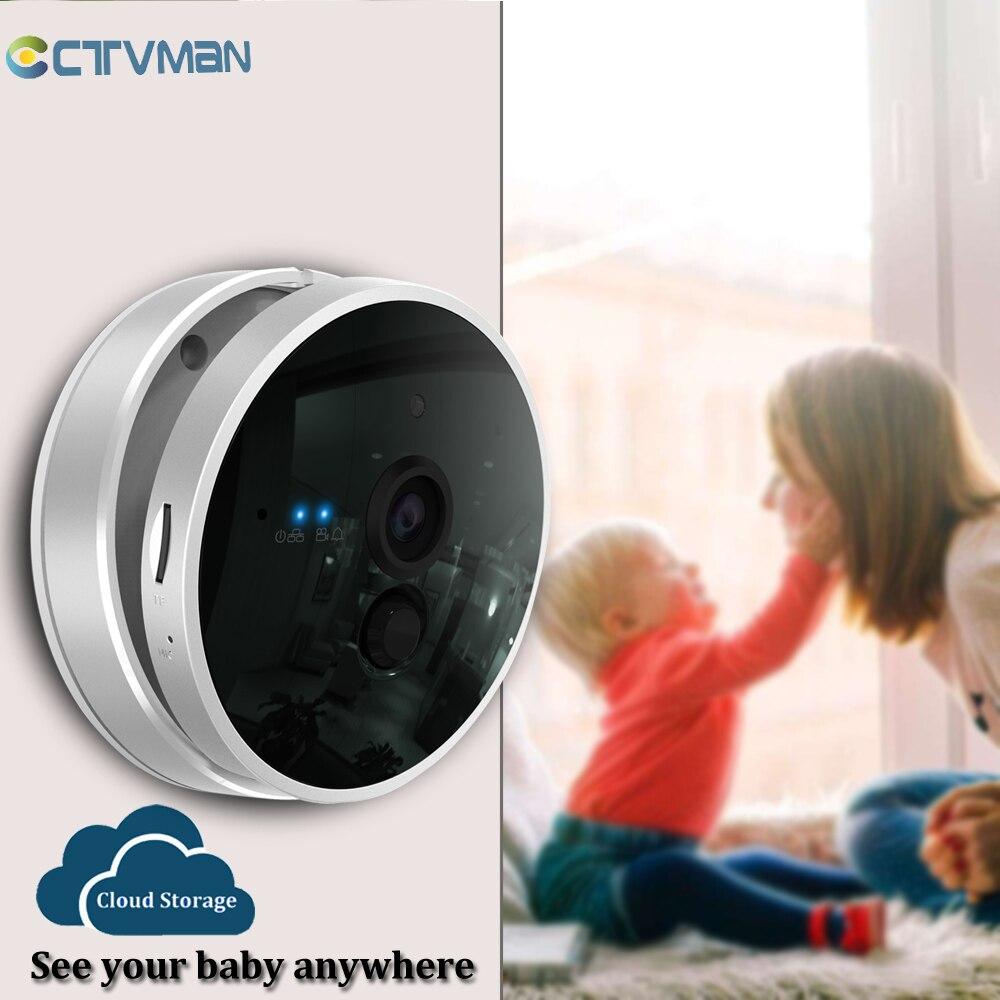 CTVMAN 1080 P WIFI caméra de vidéosurveillance stockage en nuage caméra WI-FI IP 2MP sécurité à domicile Webcam sans fil moniteur bébé caméra de Surveillance pour animaux de compagnie