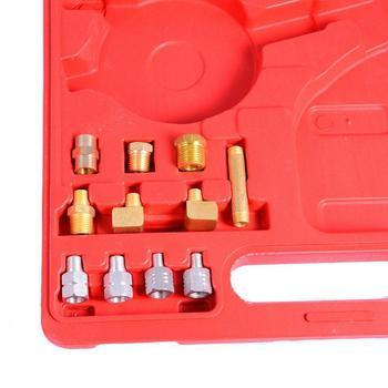 Oil Pressure Gauge Kit | High Performance 12 Pieces Automatic Transmission Engine Oil Pressure Tester Gauge TU-11A Diagnostic Test Kit 0-500psi Hot