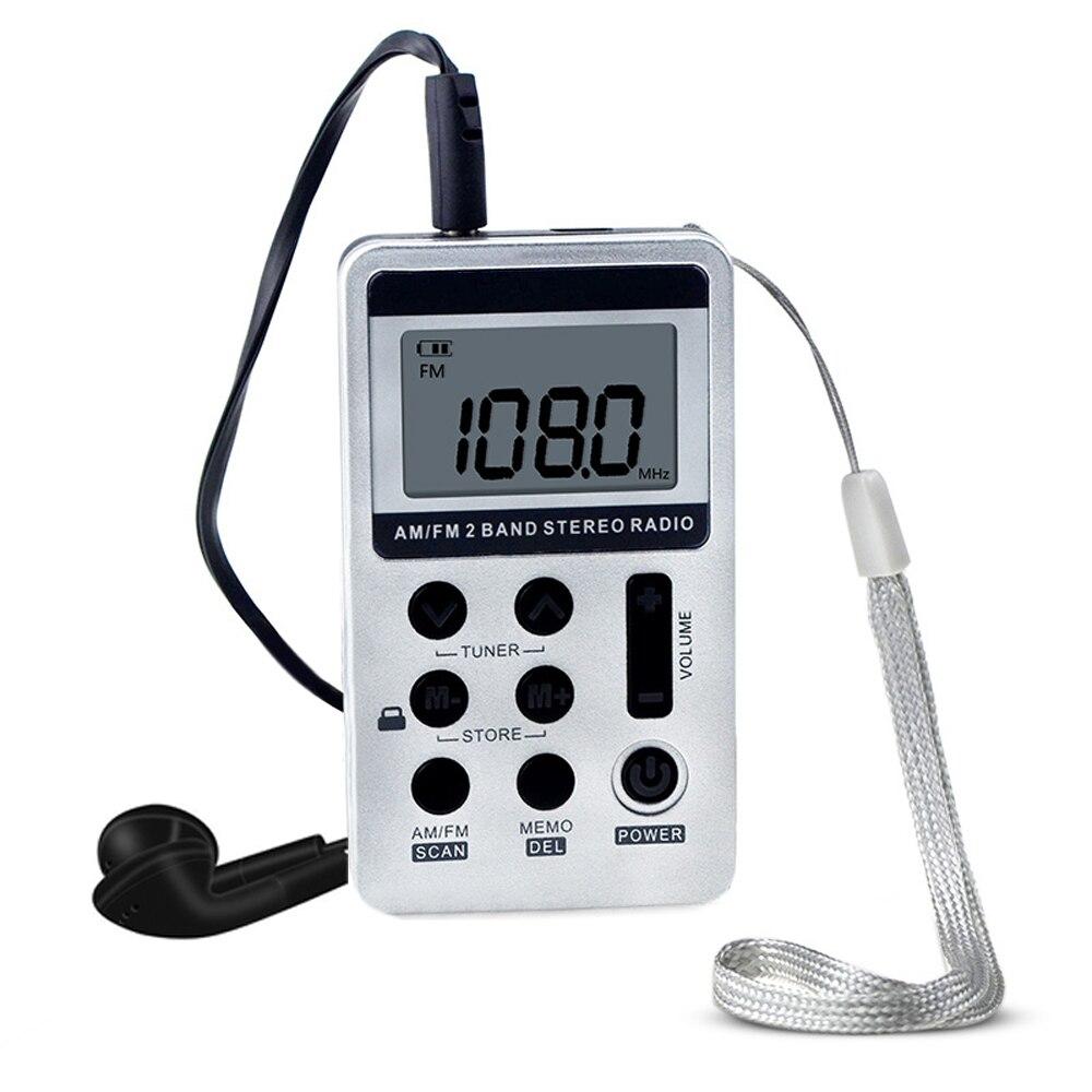 Hanrongda Hrd-103 Am Fm Digital Radio 2 Band Stereo Empfänger Tragbare Tasche Radio W/kopfhörer Lcd-bildschirm Akku Tragbares Audio & Video Radio
