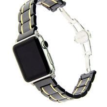 Ремешок для часов apple watch series 4 роскошный керамический