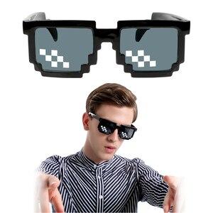 موتوسيكلات النظارات الشمسية فوق البنفسجية حماية 3/6 بت MLG منقطة النظارات الشمسية موتوكروس الدراجة سباق نظارات فسيفساء خمر نظارات