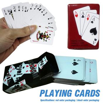 Mini śliczne karty do pokera domu rodzina gra w gry dla dzieci prezent dla dzieci na świeżym powietrzu sprzęt akcesoria tanie i dobre opinie 8 lat Pośrednie Papier Nieograniczona Inne buławy 0-30 minut Normalne Support