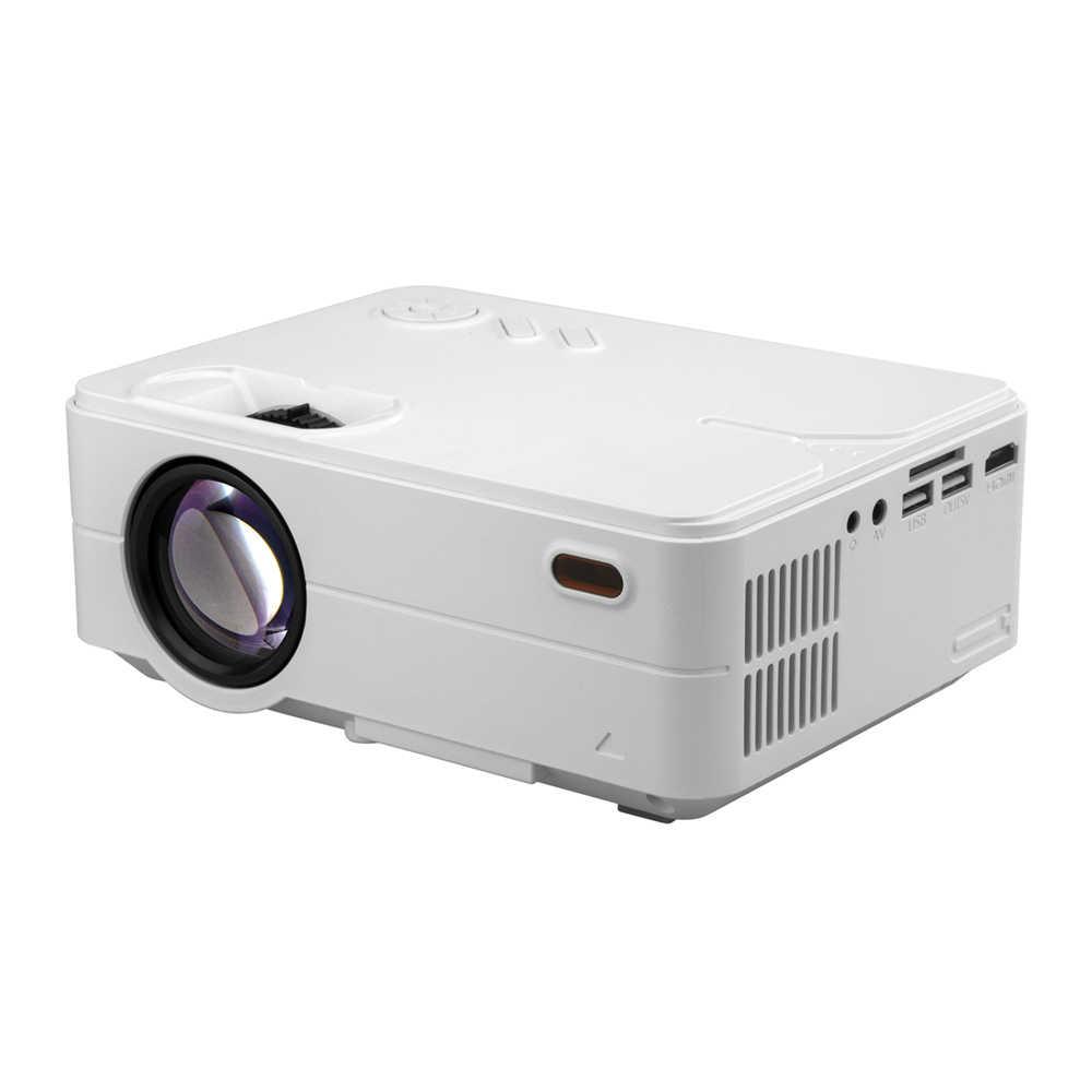 Портативный проектор 4 дюйма мини 1080 P Высокое разрешение проектор с wi-fi высокое Яркость низкая Шум RD-813 для дома Кино встречи