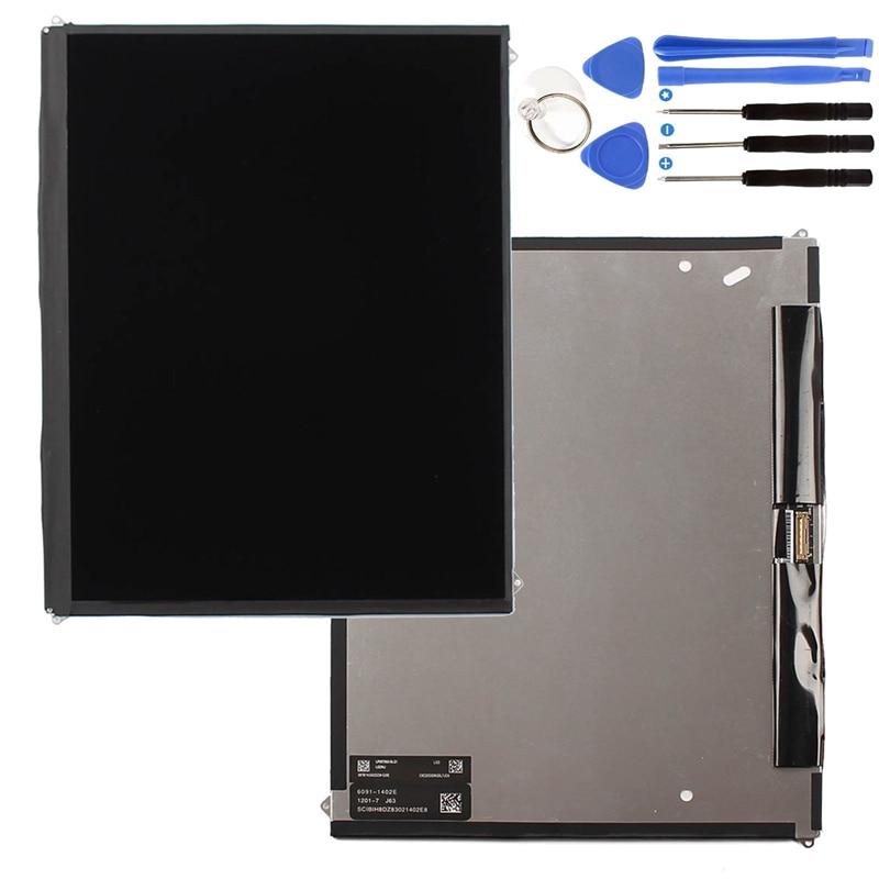 Réparation de rechange de pièces d'écran d'affichage à cristaux liquides pour l'ipad 2 2Nd Gen A1395 A1396 A1397