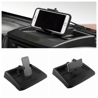 New Plastic Black Car Auto Dash Phone Holder Bracket Kit for Wrangler Universal Vehicle Bracket Phone Holder Free Ship