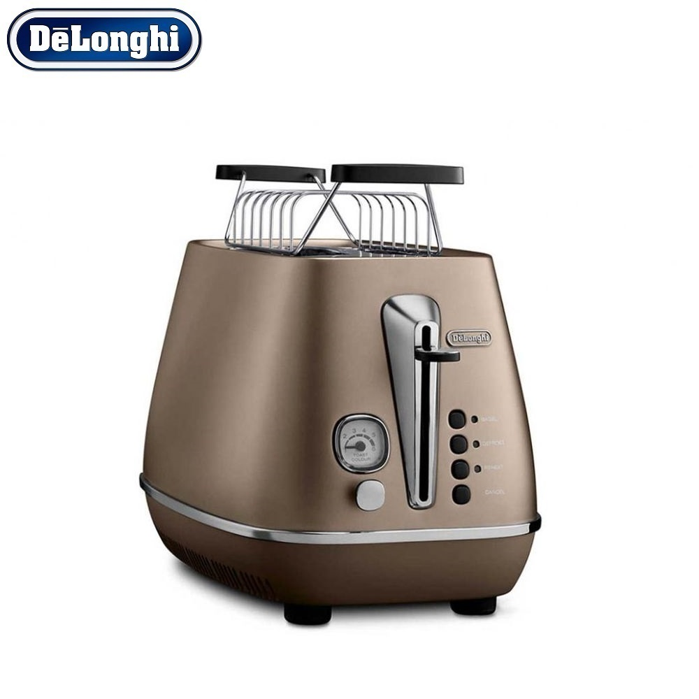 лучшая цена Toasters Delonghi CTI 2103.BZ home kitchen appliances cooking toaster fry bread to make toasts