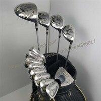 Новый 525 клюшки для гольфа HONMA BEZEAL 525 полный набор HONMA Golf driver. Дерево. утюги. клюшка графит ручка клюшки для гольфа без сумки бесплатная доставк