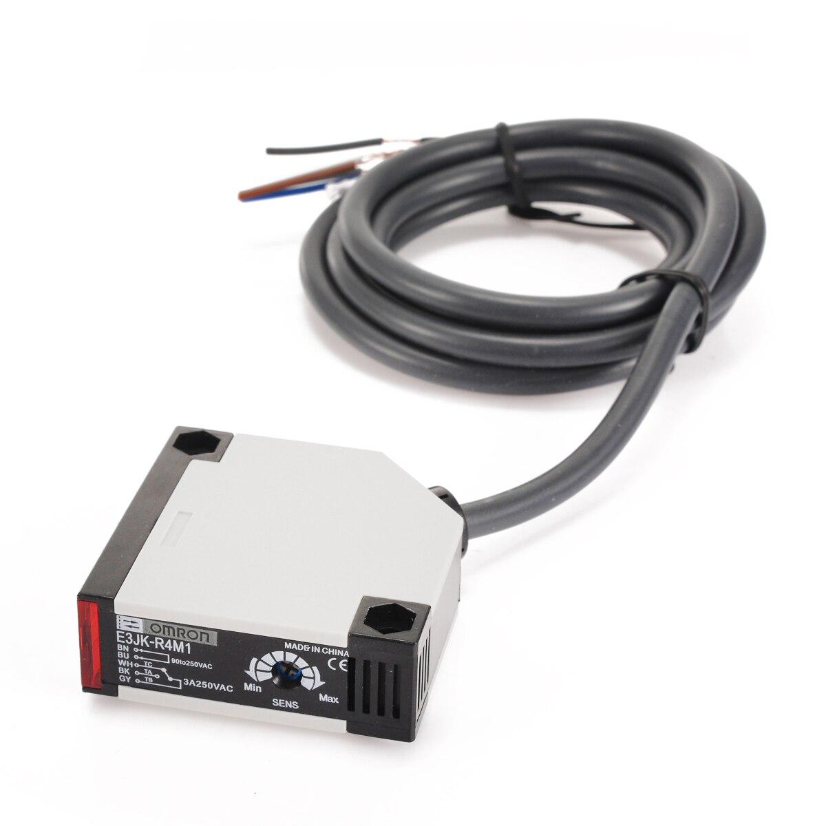 Specular Reflection Photoelectric AC 90-250V 3A E3JK-R4M1 Sensor Switch de