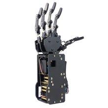Industriale Braccio del Robot Robot Bionico Mani Grande Servo di Coppia Dita di Auto movimento Meccanico della Mano con il Pannello di Controllo