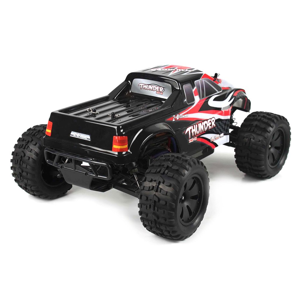 ZD Racing 10427 - S 1:10 Big Foot RC Cars RTR 2.4GHz 4WD Splashproof 45A ESC 3.5kg High-Torque Servo Brushless Motor RC Cars  - buy with discount