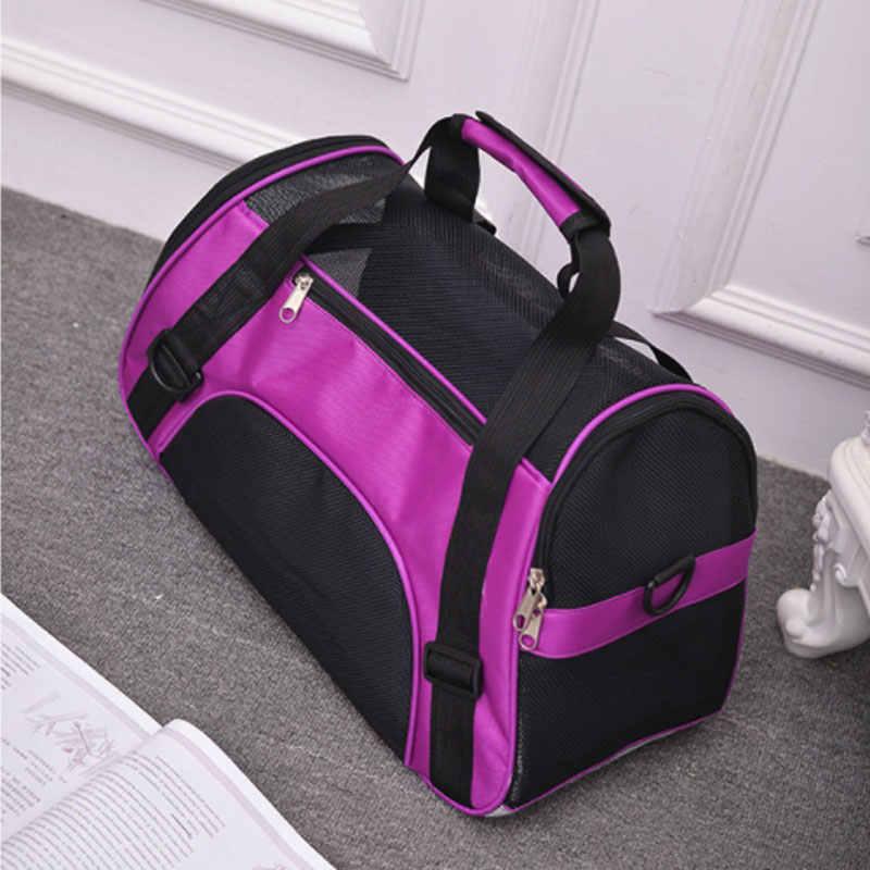 Draagbare Huisdier Rugzak Messenger Carrier Tassen Kat Hond Carrier Uitgaande Reizen Teddy Pakketten Ademend Kleine Huisdier Handtas