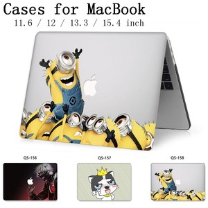 Image 1 - For Laptop Case For Notebook MacBook 13.3 15.4 Inch For Sleeve MacBook Air Pro Retina 11 12 With Screen Protector Keyboard Cove