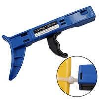 TG-100 Kabel ZIP Krawatten AutomaticTension Cut Off Gun Werkzeug Befestigung und schneiden werkzeug sonder für Kabel Tie Gun Für Nylon kabelbinder
